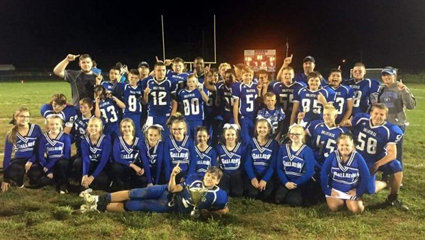 Middle School Football Conference Champs!